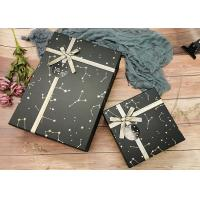 Buy cheap Constellation Printing Gift And Shopping Cardboard Storage Boxes With Shiny Belt product