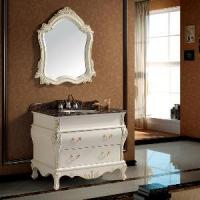 Buy cheap 40 Inch Traditional Bathroom Vanity Sink Cabinet with Mirror (SE1003) product