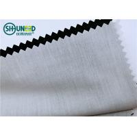Buy cheap Plain Pattern Garments Accessories Polyester / Cotton Pocketing Fabric Rolls product