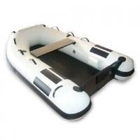 Buy cheap Funny white PVC Inflatable Boat For Surfing / Going Sun Bathing product