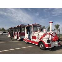 Buy cheap Theme Park Electric Trackless Train Trackless Kiddie Train Customize Color from wholesalers