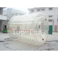Buy cheap Colorful inflatable water roller , human size inflatable water rollers ball product