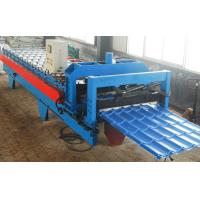 Buy cheap Circular Arc Galvanized Tile Roll Forming Machine product