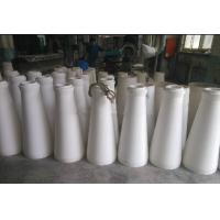 Buy cheap Well resistant alumina ceramic cone tube product