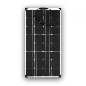 Buy cheap Mono 100 Watt Flexible Solar Panel , Etfe Solar Panel With SGS Certification from wholesalers