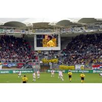 Buy cheap P10 Smd Outdoor Led Stadium Led Display Football Stadium Led Screens product