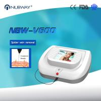 Buy cheap 0.01mm&0.03mm Needles Vascular Laser Therapy Treatments Moles Pigments Tags Milia Spider Vein Removal Machine product