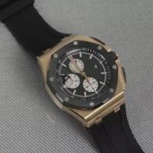 18K Rose Gold Watch mechanical 50 meters water resistance; Octagon Ceramic bezel 8screws