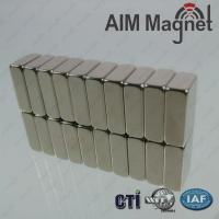 Buy cheap Customized Block Magnet N52 NiCuNi Coating product