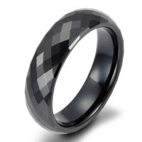 Buy cheap Hot Sale Comfort Fit High Quality Black Ceramic Ring product