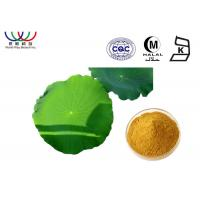 Buy cheap Water Soluble Lotus Leaf Extract Reducing Fat Ingredients Characteristic Odor product
