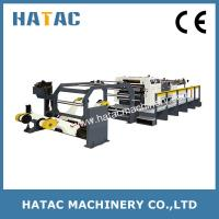 Buy cheap Automatic Cosmetic Box Cutting Machine,High Speed Coated Paper Sheeting Machine,A4 Paper Cutting Machinery product