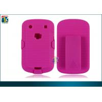 Buy cheap Pink, Blue, Black Hard Shell Case / Holster Combo For Blackberry Bold 9900 Protective Case product