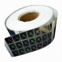 Buy cheap Security Hologram Sticker/Label product