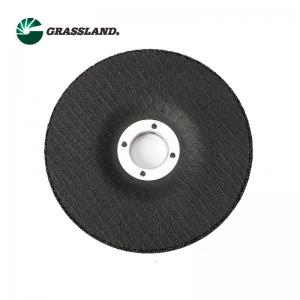 Buy cheap Grassland Abrasive 80M/S Grinder Steel Cutting Disc Wheel 125x6x22 For Carbon Steel product