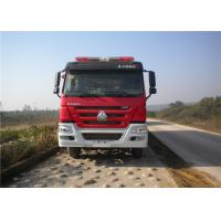 Buy cheap Max Power 309KW Fire Rescue Vehicles , Approach Angle 16° Industrial Fire Truck product