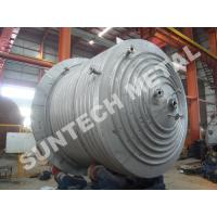 Buy cheap 316L Main body & 304  Half Pipe Industrial Chemical Reactors with platform product