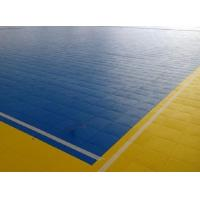 Quality Portable Interlocking Sports Flooring , Excellent Grip Modular Sports Flooring for sale