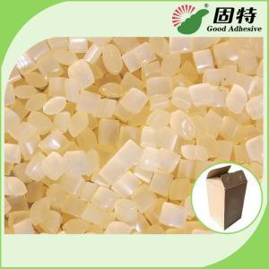 Buy cheap Yellow Carton Sealing Closing Paper Hot Melt Pellets EVA Hot Melt Glue Adhesive  Nordson Hot Melt Adhesive product