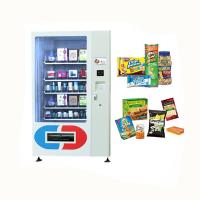 China Consumer Electronic Products Mini Mart Vending Machine With Conveyors White Color on sale
