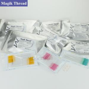 Buy cheap Magik Thread PDO thread 19G100mm face lift pdo thread cog3d L blunt product