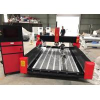 Buy cheap Red Black Blade Table Stone Cnc Router Machine , cnc router for wood product