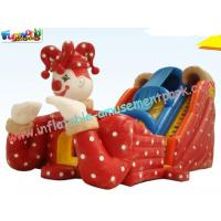 Kids Inflatable Colorful PVC tarpaulin Commercial Inflatable Slide with digital printing