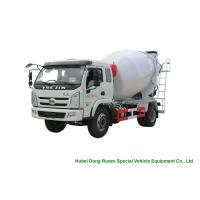 Buy cheap YUEJIN 5m3 Small Concrete Mixer Truck With Pump , 4x2 Mobile Mixer Truck product