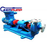 Buy cheap AFB Horizontal Corrosion Resistant Chemical Centrifugal Pump 0.75KW ~ 55KW product