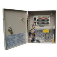 Buy cheap 12V DC 5A 9 Channel CCTV Power Supplies , Surveillance Cameras Power Supply Box product