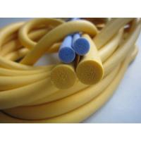 Buy cheap Low Maintenance Silicone Sponge Rubber Strips No Contamination For Aviation product