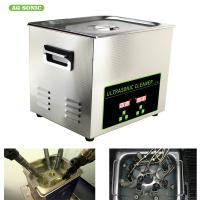 Buy cheap 200W 10l Ultrasonic Digital Cleaner Tabletop For Automotive Parts Motor Engine product