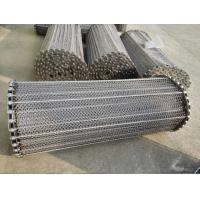 Stainless Steel Wire Conveyor Belts Acid Proof For Meat / Tortilla Processing