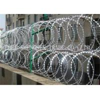 Buy cheap Hot Dipped Galvanized Razor Blade Barbed Wire product