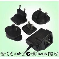 Buy cheap Multi prong Switching Power Adapters 6W type, UL, GS, PSE, C-tick, BS approvals product