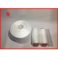 Buy cheap Polyester Staple Fibre Raw White Yarn On Dying Plastic Tube High Tension product