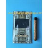 Buy cheap Manufacturers custom-made sales gold printing cigar packaging moisturizing zipper bag product