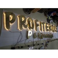 Buy cheap Stainless Steel Backlit LED  Channel Letters with Hight Bright Lighting from Wholesalers