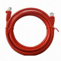 Buy cheap UTP patch CAT 6 networking cable, various colors are available product