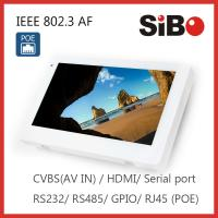 Buy cheap 7 Inch Wall Flush House Control Automation Industrial Android POE Tablet product