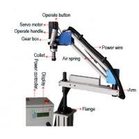Buy cheap 220Vsingle Phase Flex Tapping Arm Machine With Auto Tapping Funcation product