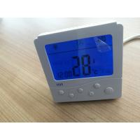 Buy cheap Button Control Fan Coil Unit Thermostat LCD Display With Electric Heater Function product