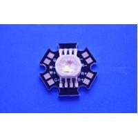Buy cheap 4X3W Epistar LED Chip High Power RGBW Led Diode With Black Star PCB product