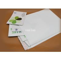 China No Fading White PolyBubble Mailers Light Weight For Postage Savings on sale