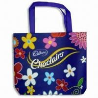 Buy cheap Gift Bag, Made of Non-woven Fabric, Customized Logo Printings are Accepted product