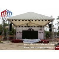 Buy cheap Outdoor Lightweight Concert Truss System Light Frame Hand Hoist Easy To Assemble product