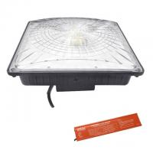 Buy cheap Emergency Driver LED Parking Garage Lights 8000 Lumens 5000K UL DLC 120V No Flickering product