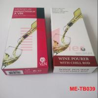 Buy cheap Wine Pour Spout & Stopper Paper Packagng Box ME-TB039 product