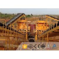 Buy cheap Stone Cone Industrial Crusher Machine Rock Crushing Plant High Capacity product