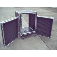 Rack Flight Case 14U ShockProof Case 9mm Plywood With 1mm Color Fireproof Wood  Color And Size Customer Request